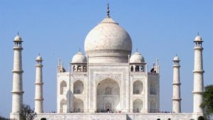 The uses of marble - Taj Mahal