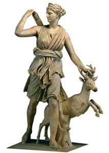 Uses of Marble - Greek goddess, Artemis
