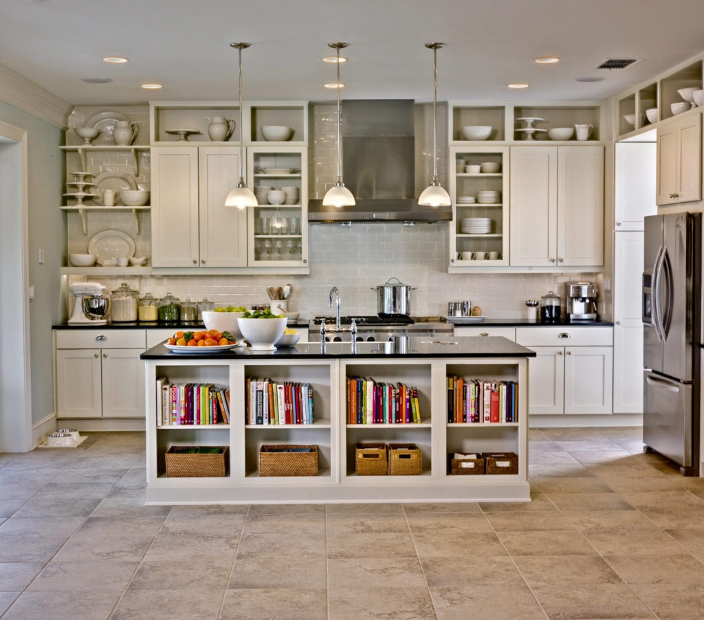 a well-organised kitchen